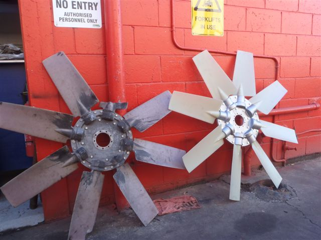 Electric fans repair (before and after)